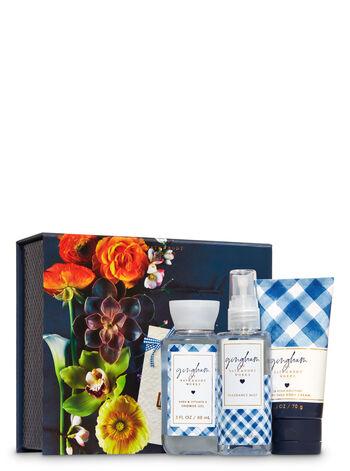 Gingham Mini Box Gift Set
