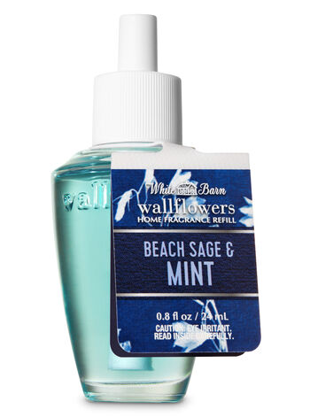 Beach Sage & Mint Wallflowers Fragrance Refill - Bath And Body Works