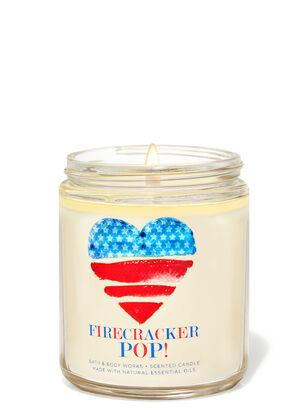 Firecracker Pop Single Wick Candle