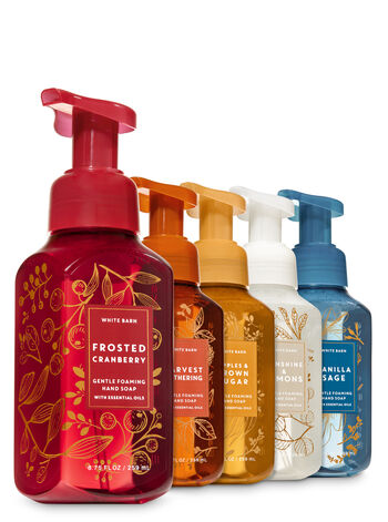 Autumn Glow Gentle Foaming Hand Soap, 5-Pack - Bath And Body Works