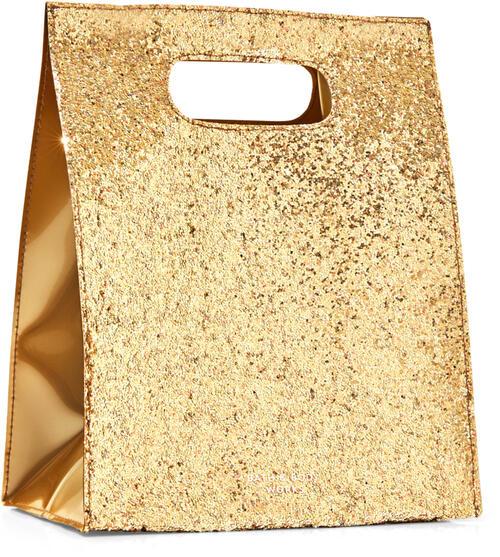 Gold Glitter Gift Bag