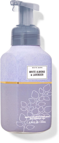 White Almond & Lavender Gentle Foaming Hand Soap
