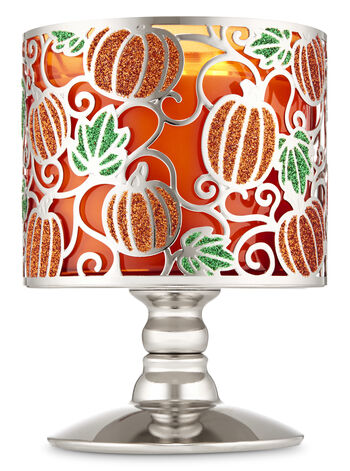 Sparkly Pumpkins 3-Wick Candle Holder - Bath And Body Works