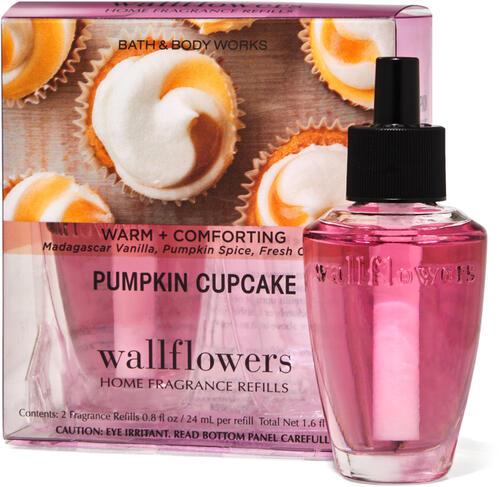 Pumpkin Cupcake Wallflowers Refills 2-Pack
