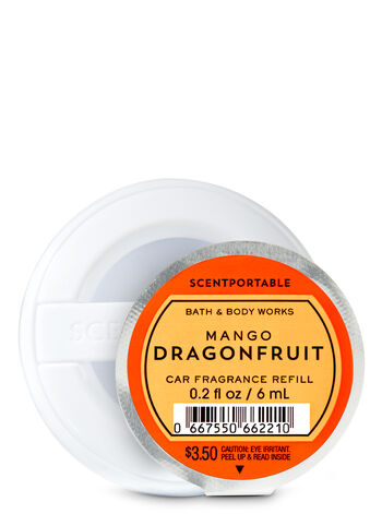 Mango Dragonfruit Car Fragrance Refill - Bath And Body Works