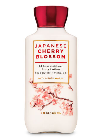 Japanese Cherry Blossom Super Smooth Body Lotion - Bath And Body Works