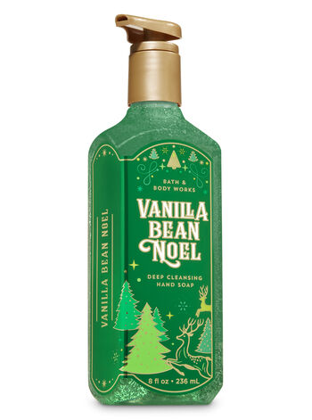 Vanilla Bean Noel Deep Cleansing Hand Soap - Bath And Body Works