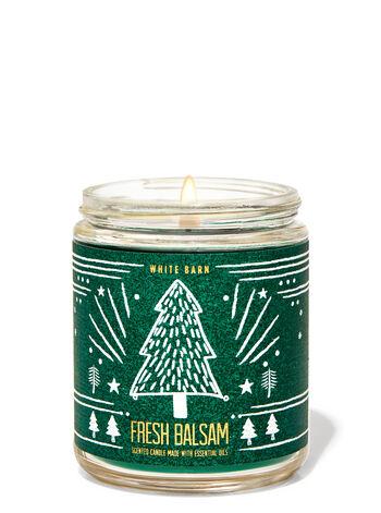 Fresh Balsam Single Wick Candle