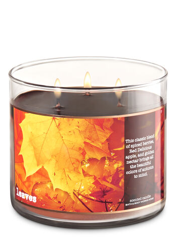 Leaves 3 Wick Candle Bath Amp Body Works
