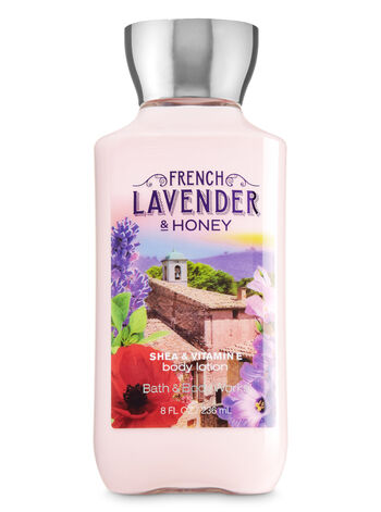 Signature Collection French Lavender & Honey Body Lotion - Bath And Body Works