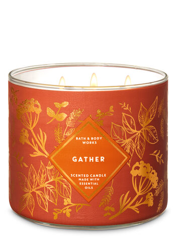 Gather 3-Wick Candle - Bath And Body Works