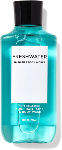 Freshwater 3-in-1 Hair, Face & Body Wash