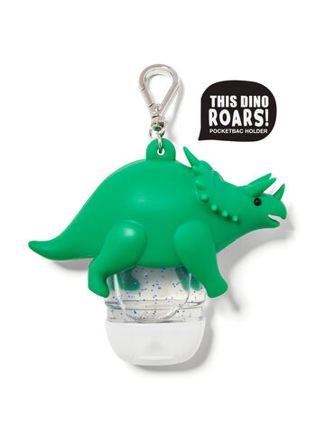 Noise-Making Triceratops PocketBac Holder