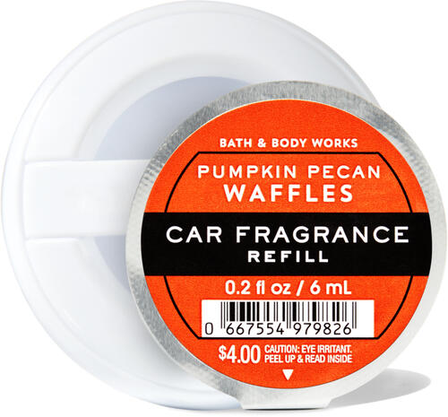 Pumpkin Pecan Waffles Car Fragrance Refill