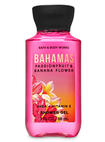 Bahamas Passionfruit & Banana Flower Travel Size Shower Gel - Bath And Body Works