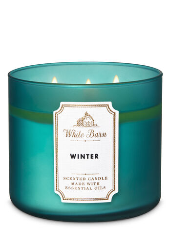 White Barn Winter 3-Wick Candle - Bath And Body Works