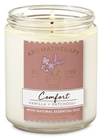 Aromatherapy Vanilla Patchouli Single Wick Candle - Bath And Body Works