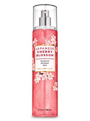 Japanese Cherry Blossom Diamond Shimmer Mist