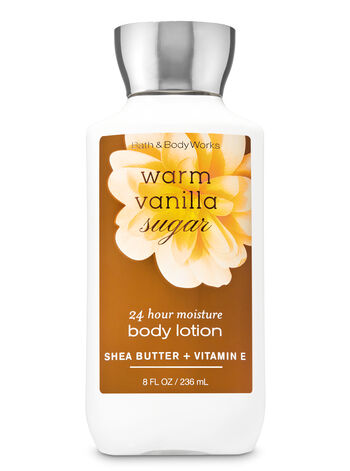 Signature Collection Warm Vanilla Sugar Super Smooth Body Lotion - Bath And Body Works