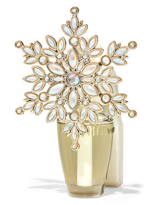 Shiny Snowflake Nightlight Wallflowers Fragrance Plug