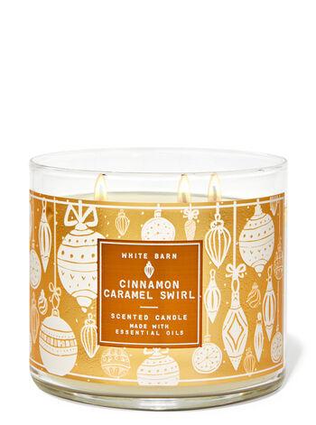 Cinnamon Caramel Swirl 3-Wick Candle