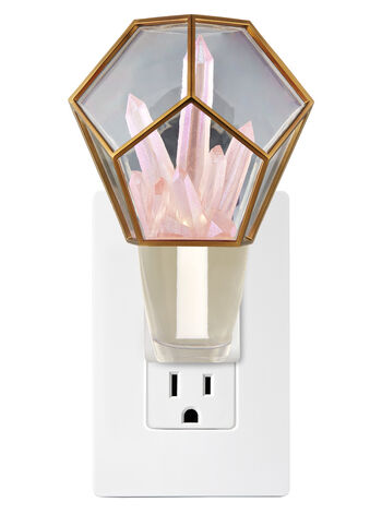 Crystal Terrarium Nightlight Wallflowers Fragrance Plug