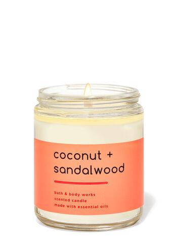 Coconut Sandalwood Single Wick Candle