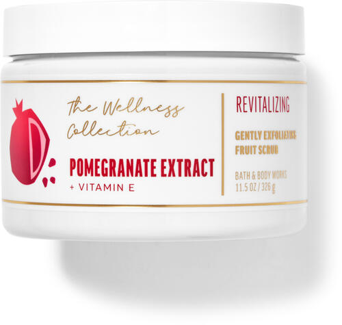 Pomegranate Extract Gently Exfoliating Fruit Scrub