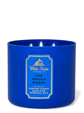 Iced Vanilla Woods 3-Wick Candle