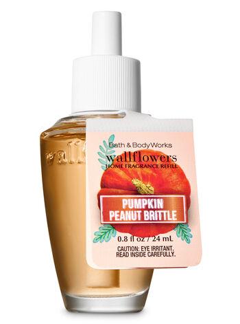 Pumpkin Peanut Brittle Wallflowers Fragrance Refill - Bath And Body Works