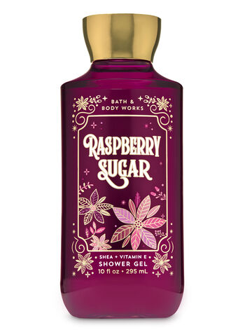 Raspberry Sugar Shower Gel - Bath And Body Works