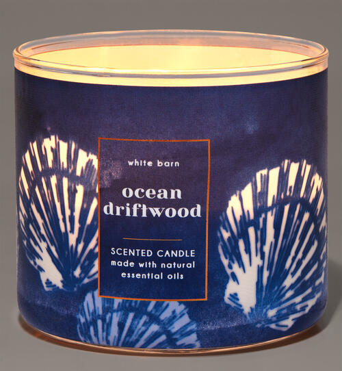 Ocean Driftwood 3-Wick Candle