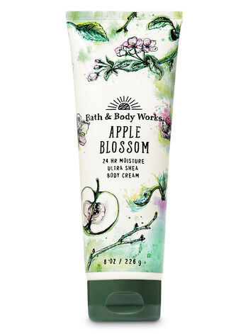 Signature Collection Apple Blossom Ultra Shea Body Cream - Bath And Body Works