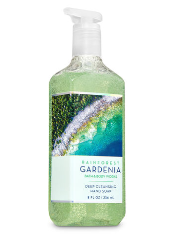 Rainforest Gardenia Deep Cleansing Hand Soap - Bath And Body Works
