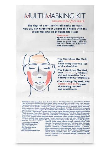 Nourishing, Detoxifying & Calming Face Mask Kit