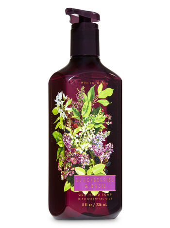 Blackberries & Basil Gel Hand Soap - Bath And Body Works