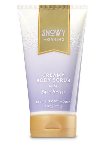Signature Collection Snowy Morning Creamy Body Scrub - Bath And Body Works