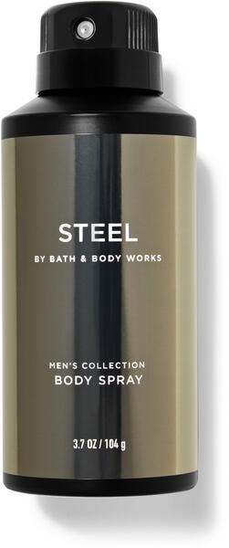 Steel Deodorizing Body Spray