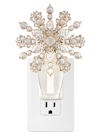 Ornate Snowflake Nightlight Wallflowers Fragrance Plug