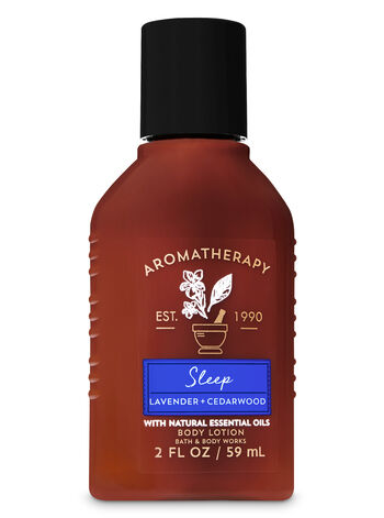 Aromatherapy Lavender Cedarwood Travel Size Body Lotion - Bath And Body Works