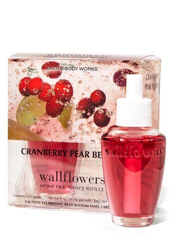 Cranberry Pear Bellini Wallflowers Refills, 2-Pack