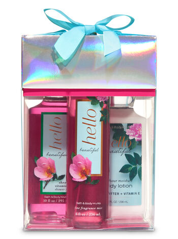 Hello Beautiful Box Gift Set