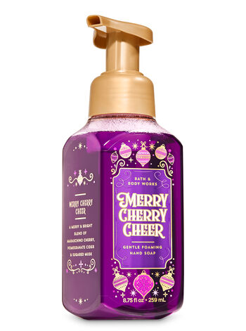 Merry Cherry Cheer Gentle Foaming Hand Soap - Bath And Body Works