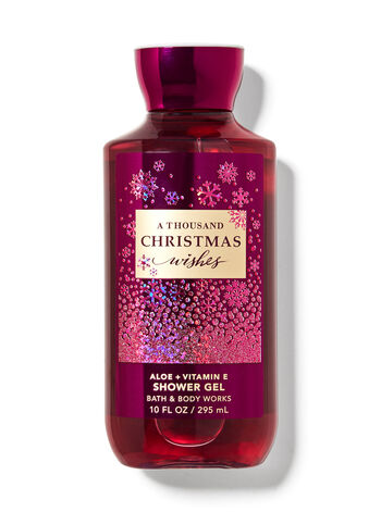 A Thousand Christmas Wishes Shower Gel