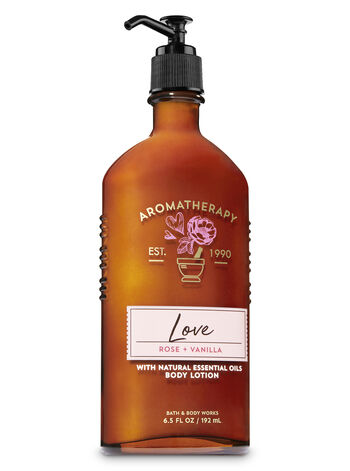Aromatherapy Rose Vanilla Body Lotion - Bath And Body Works