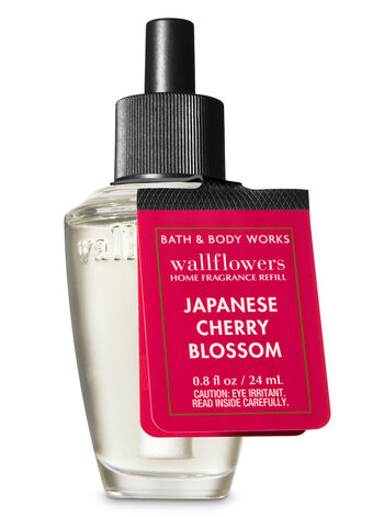 Signature Collection Japanese Cherry Blossom Wallflowers Fragrance Refill - Bath And Body Works