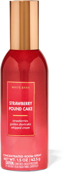 Strawberry Pound Cake Concentrated Room Spray