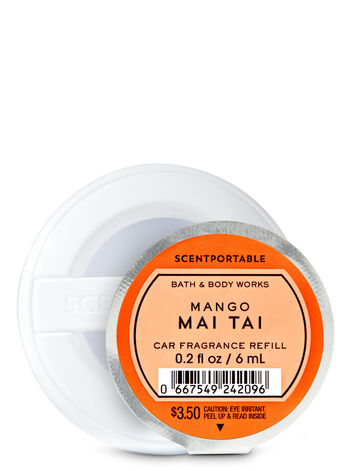 Mango Mai Tai Car Fragrance Refill - Bath And Body Works
