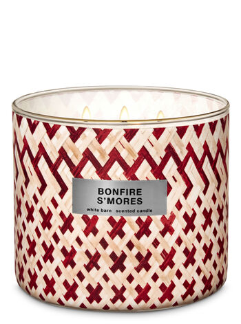 Bonfire S'mores 3-Wick Candle - Bath And Body Works