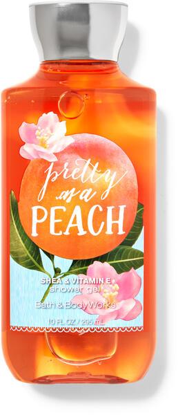 Pretty as a Peach Shower Gel